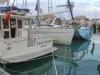 Play d'eau had a 53' Beneteau and an enormous, brand new 64' Jeanneau (called polar Bear) rafting up against her