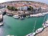 St Martin de Ré's marina taken from my quadcopter