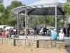 The bandstand at Port la Fôret marina