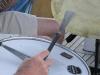 Georges on drums