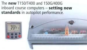 Raymarine T150G autopilot