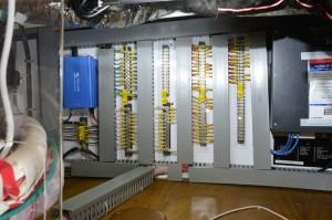 Pilot House AC wiring bay