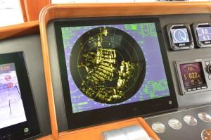 "The Furuno radar uses a 19"" Hatteland display"