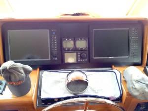 Centre main console