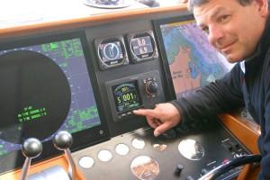 Andy Craig of MEI resolves the Simrad AP 70 autopilot problem
