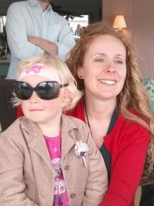 I always wear my Mum's sunglasses
