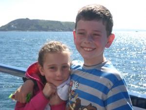Our eldest son's two children