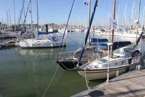 The 3500 berth Les Minimes marina at La Rochelle