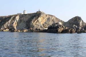 The coast guard's HQ on the Pointe-de-Toulinguet