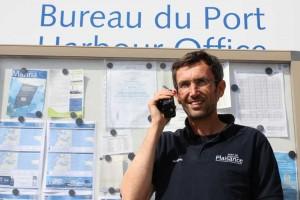 M. Frédérie Boccou, Maître du Port, Roscoff
