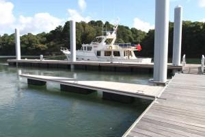 The new 30m pontoon on main pontoon E