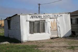 Langer township's African Gospel Church