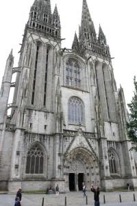 Cathédrale Saint-Corentin de Quimper began construction in the 1400s
