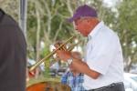 Alain Duhait, trumpeter of the Cornouaille Jazz Band