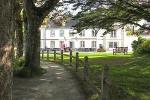 The 18th century Le Manoir de Mesmeur is now the prestigious Cornouaille Golf Club